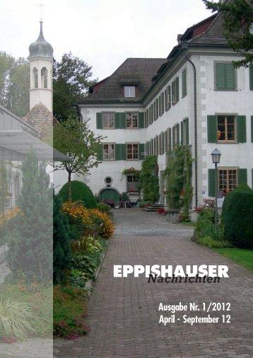 Ausgabe Nr. 1/2012 April - September 12 - Schloss Eppishausen