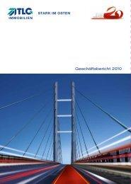 Geschäftsbericht 2010 - TLG Immobilien GmbH
