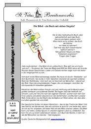 Die Bibel - ein Buch mit sieben Siegeln? - Battern