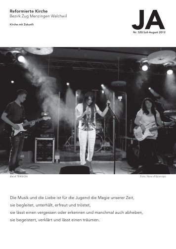JA - Juli/August 2012 - Reformierte Kirche Zug