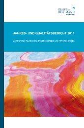 Jahresbericht 2011 - Ernst von Bergmann