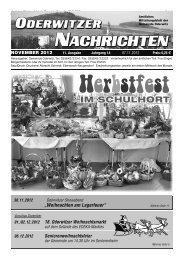 November - Gemeinde Oderwitz