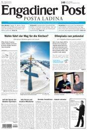 Engadiner Post Nr. 148 vom 15. Dezember 2012