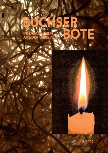 Ausgabe_5_2012 [PDF, 8.00 MB] - Gemeinde Buchs