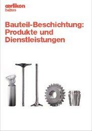 Bauteil- Beschichtung: Produkte und Dienstleistungen