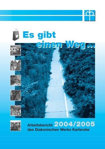 Arbeitsbericht 2004/2005