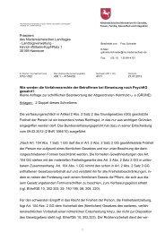 Wie werden die Verfahrensrechte der Betroffenen ... - Ursula Helmhold