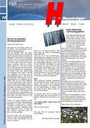 Ausgabe 14 Frühling Sommer 2012.pub - Über uns