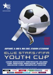 auffahrt, 8. und 9. mai 2002, stadion letzigrund - Blue Stars/FIFA ...