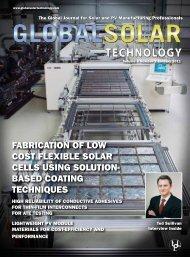January 2011 - Global Solar Technology