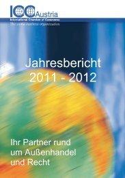 Jahresbericht 2011 - 2012 - ICC Austria