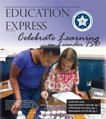 in Leander ISD - Leander Independent School District