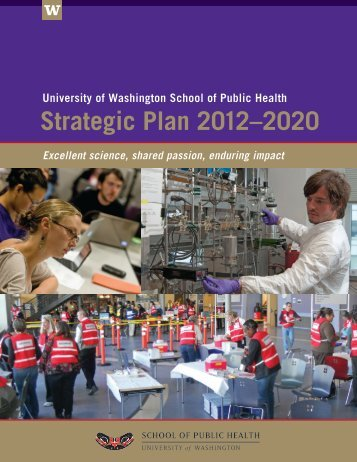 Strategic Plan 2012–2020 - University of Washington School of ...