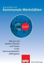 Handbuch Kommunale Werkstätten