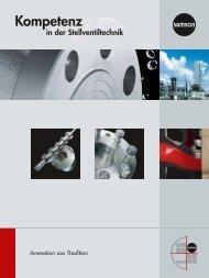 Kompetenz - Samson AG Mess- und Regeltechnik