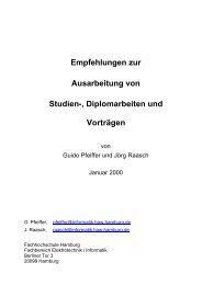 Empfehlungen zur Ausarbeitung von Studien-, Diplomarbeiten und ...