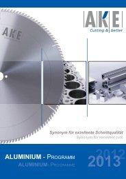 Aluminium - PROGRAMM - AKE Knebel GmbH & Co. KG