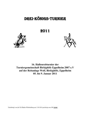 Programmheft (0,7 MB) - Reitanlage Wolf in Eppelheim