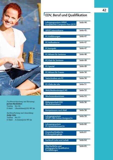 2012-2013 EDV, Beruf und Qualifikation - Bildungszentrum ...