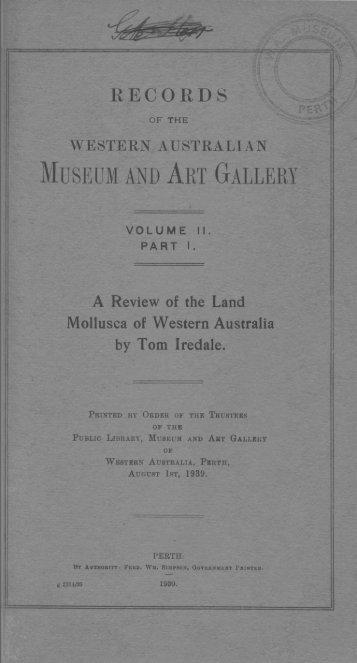 J - Western Australian Museum