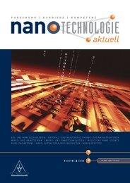 nanotechnologie aktuell 2 2009 - Scanning Probe Methods Group