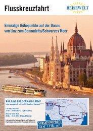 Flusskreuzfahrt von Linz ans Schwarze Meer (oder umgekehrt) mit ...