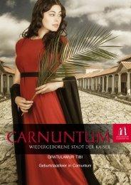 GRATULAMUR TIBI Geburtstagsfeier in Carnuntum