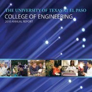 College of Engineering Annual Report, 2010