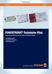 POWERTRONIC® Technische Fibel. - Osram