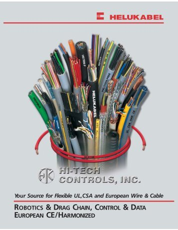 Cables & Wires 100-Page Catalog - Hi-Tech Controls