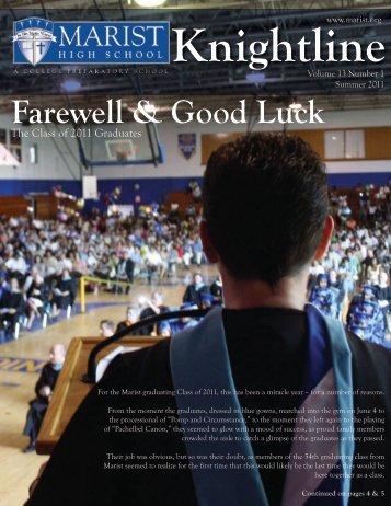 Summer 2011 - Marist High School