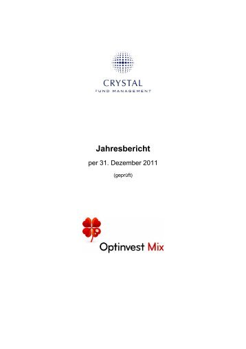 Optinvest Mix - Crystal Fund Management AG