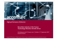 Securities Industry of the Future: Technology Remains Growth Driver