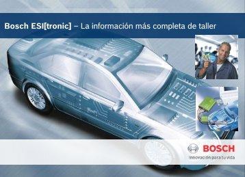 Bosch ESI[tronic] – La información más completa de taller