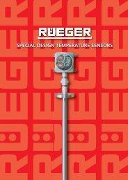 SPECIAL DESIGN TEMPERATURE SENSORS - Rueger