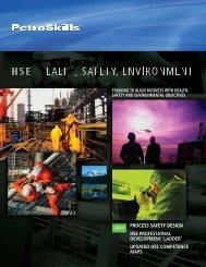 process safety design hse professional development - Petroskills