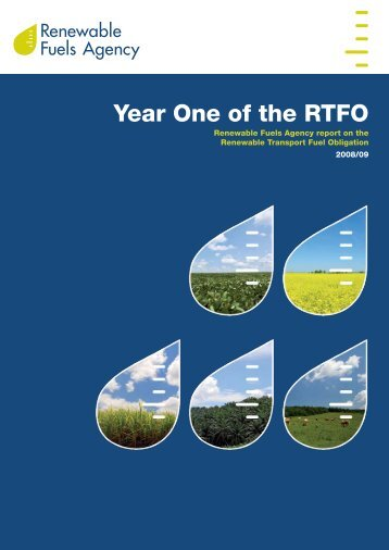 Year One of the RTFO - Official Documents
