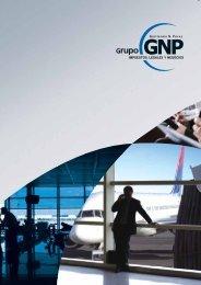Brochure Institucional - Grupo GNP . Impuestos, Legales y Negocios