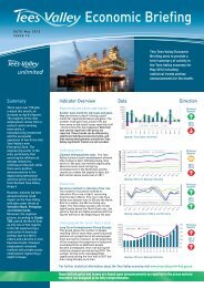 Economic Briefing - Tees Valley Unlimited