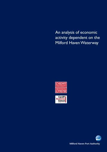 copy of the full report can be downloaded - Milford Haven Port ...