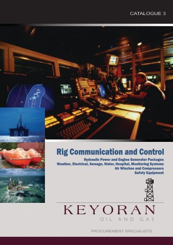 Rig Communication and Control - Lagoa America