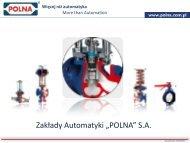 Pobierz prezentację (4MB) - Polna S.A.