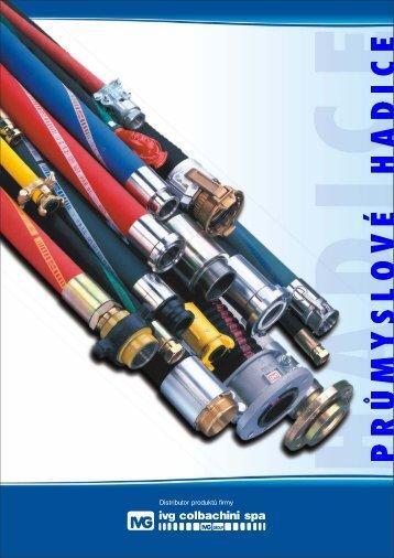 Katalog průmyslových hadic 2010