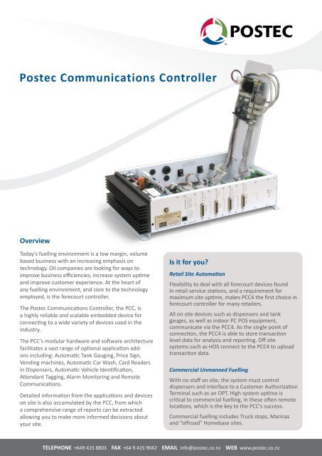 postec communications controller - gilbarco veeder-root on omron wiring  diagram, eaton wiring diagram