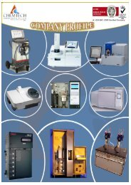 Company Profile 2012 - ChemTech International