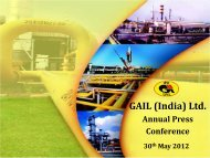 Presentation - GAIL (India) Limited