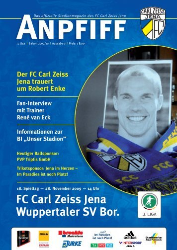 FC Carl Zeiss Jena Wuppertaler SV Bor.