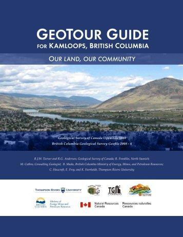 GEOTOUR GUIDE - City of Kamloops