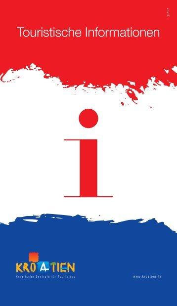 Touristische Informationen - Business - Hrvatska turistička zajednica