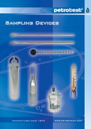 catalog 98-1900 - Sampling Devices - Labtex
